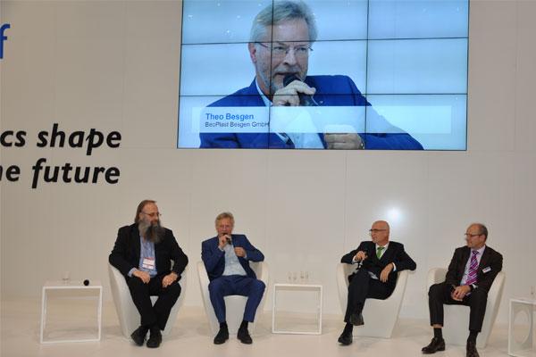 """Theo Besgen auf der """"K"""": """"Ich möchte weitere Unternehmer zu mehr umweltbewusstem Handeln ermutigen."""""""