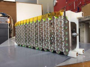 Akkumodule für die Formula Student.
