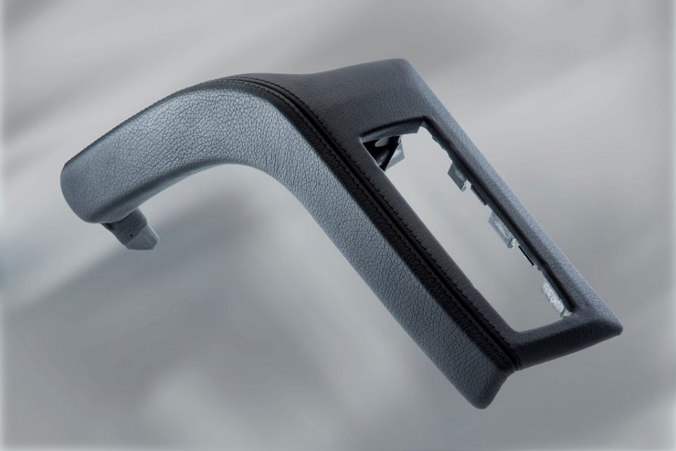 Door handle, 5-part mounted, without cover