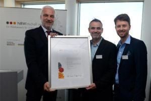 Ausgezeichnet für Bio-Kompetenz Minister ehrt BeoPlast