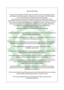 B.A.U.M. EV - Kodex