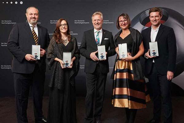 BeoPlast - ausgezeichnet mit dem Deutschen Nachhaltigkeitspreis 2016